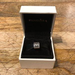 Jewelry - Pandora Charm - Letter M (Retired)